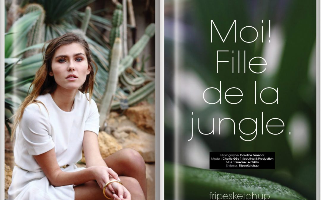 Fille de la jungle.
